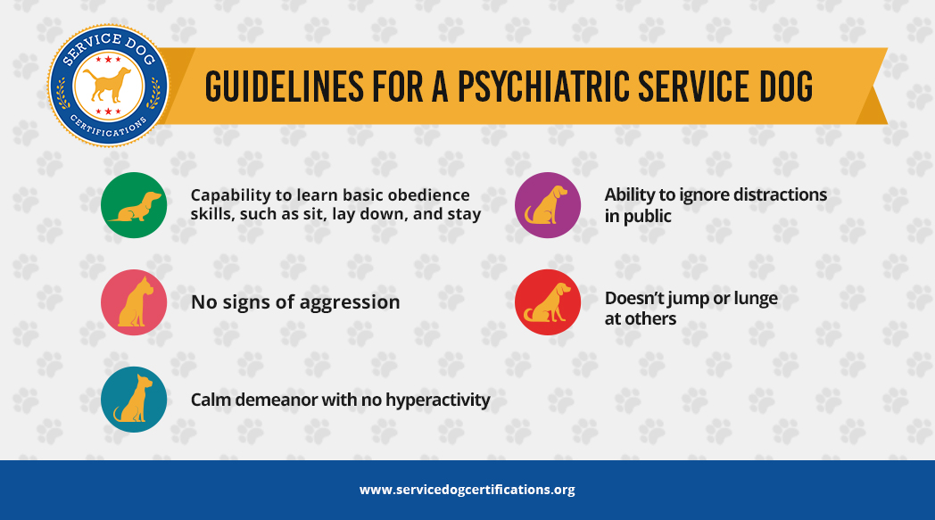 Guidelines for a Psychiatric Service Dog